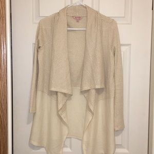 Juicy Couture Open Cardigan